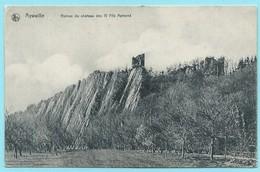 1618 - BELGIE - AYWAILLE - RUINES DU CHATEAU DES FILS AYMOND - Aywaille