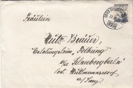 ÖSTERREICH 1929 - 16 Gro Auf Brief (mit Inhalt) Gel. Von Unterdrauburg > Post Muthmannsdorf, StempelNr.325 - 1918-1945 1st Republic