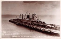 33-BORDEAUX PORT AUTONOME GARE MARITIME DU VERDON-N°T1188-H/0195 - Bordeaux