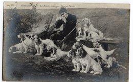 SALON 1906 * LE RENDEZ-VOUS * GEORGES FAUVEL * FUSIL * CHIENS DE CHASSE * Carte N° 1324 - Hunting