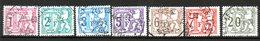 BELGIQUE Taxe 1966 N° 66-71 - Belgium