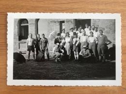 Waffenstillstand Feier Deutsche Soldaten Falck Hargarten Frankreich 22 Juni 1940 Juin Vormarsch Fête De L'Armistice - Autres Communes
