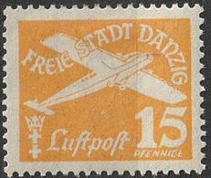 Danzig 1935 PA N° 252 MH Flugpost (G1) - Dantzig