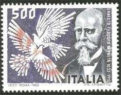 520 Italy Ernesto Moneta Prix Nobel Prize Peace Paix 1907 MNH ** Neuf SC (ITA-204) - Militaria