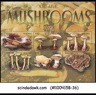 MALAWI - 2003 MUSHROOMS - MINIATURE SHEET MINT NH - Malawi (1964-...)