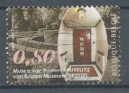 Belgique 2008 Musée Van Buuren Bruxelles Oblitéré ° - Oblitérés