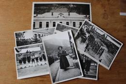 Serie De Photos MODANE Savoie 1946  Fete De La Liberation Bataillon De Chasseurs Alpins - 1939-45