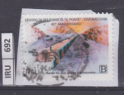 ITALIA REPUBBLICA    2018Centro Solidarietà Il Ponte Usato - 6. 1946-.. República