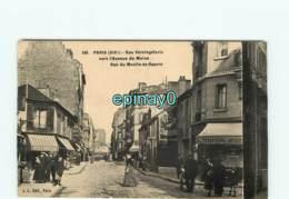 75014 - PARIS - Rue Vercingétorix Vers L'avenue Du Maine - Rue Du Moulin Du Reurre - Arrondissement: 14