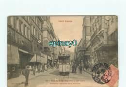 75019 - PARIS -  - VENTE à PRIX FIXE - Rue De Belleville - Ancienne Descente De La Courtille - édition Fleury - Tramway - District 19
