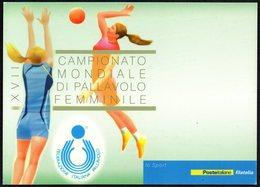 VOLLEYBALL - ITALIA 2014 - XVII CAMPIONATO MONDIALE DI PALLAVOLO - CARTOLINA POSTE ITALIANE NUOVA - Volleyball