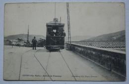 CONTES. Arrivée Du Tramway - Contes