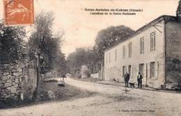 33 SAINT ANTOINE DE CUBZAC Carrefour De La Route National - France