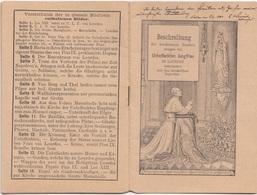 BESCHREIBUNG Der Wunderbaren Erscheinungen Der Unbefleckten Jungfrau In LOURDES, Kleines Büchlein Mit Bilddrucken, 14 .. - Libri Per Bambini