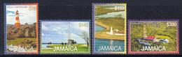 2015 2016 Jamaica Lighthouses Complete Set Of 4 MNH - Jamaica (1962-...)