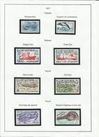 TAAF POSTE 1977 N° 64 à 73 + PA 49 Et 50 Neuf ** - Années Complètes