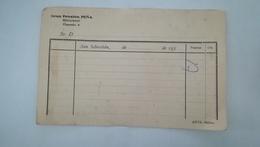 FACTURE VIERGE - GRAN PENSION PENA RESTAURANT - OQUENDO 6 - SAN SEBASTIAN ANNEES 1930 - Spain