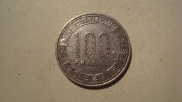 MONNAIE GABON 100 FRANCS 1977 - Gabón