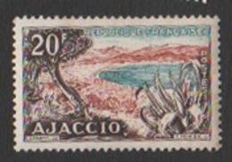 France Neuf Sans Charnière 1954 Paysage Ville Baie D' Ajaccio Corse  YT 981 - Frankreich