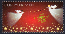 2016 Colombia Christmas Navidad   Complete Set Of 1 MNH - Colombie