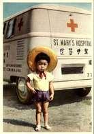 "Carte Postale Missioni Camilliane "" Freres Italiens Au Vietnam "" Combi Vw LOT 4043 - Missions"