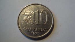 MONNAIE PARAGUAY 10 GUARANIES 1975 - Paraguay