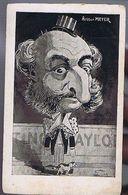 Caricature- Arthur Meyer - Illustrateur Lion - Lion