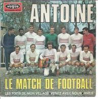"""45 Tours EP - ANTOINE  - VOGUE 8646  -   """"  LE MATCH DE FOOTBALL """" + 3 ( A.C. AJACCIO ) - Dischi In Vinile"""