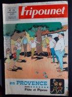 Fripounet Marisette N° 35 Du 31 Aout 1967 En Provence Petanque Jeu De Boules - Journaux - Quotidiens