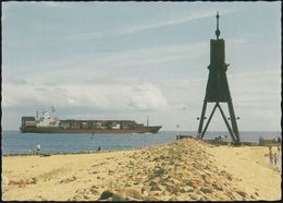 D-27472 Cuxhaven - Containerschiff - Frachter - Cuxhaven