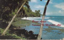 """Plage De Galets De La Cote Est De TAHITI  """" Bonne Année """" - Tahiti"""