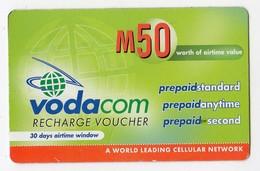 LESOTHO Prépayée VODACOM M50 Année 2005 - Lesoto
