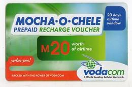 LESOTHO Prépayée VODACOM M20 Année 2006 - Lesoto