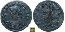 LaZooRo: Roman Empire - AE Antoninian Of Probus (276 - 282), FIDES MILIT - 5. L'Anarchie Militaire (235 à 284)