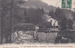 Cornimont Scierie Et Pont Du Mur Des Granges - Cornimont