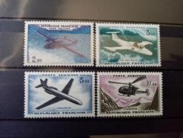 FRANCE.1960. Poste Aérienne N° 38 à 41.  PROTOTYPES . NEUFS++ Côte Yvert 2019 : 20 €. - 1960-.... Mint/hinged