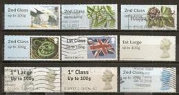 Grande-Bretagne Great Britain Post & Go Stamps Obl - Groot-Brittannië