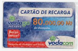 MOZAMBIQUE Prépayée VODACOM 80.000 MT Année 2006 - Mozambico