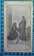 Maria Vergine S. Elisabetta Rosario Vivente Tra I Fanciulli  S. Domenico Torino SANTINO Tip. Eynard - Devotion Images