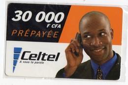 BURKINA FASO Prépayée CELTEL 30 000 FCFA Date 2004 - Burkina Faso