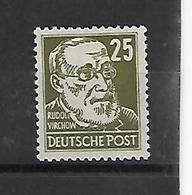 Oost-Duitsland Uitgifte 1953  Xx Postfris N° 98  Cote Yvert 2014  225 Euro - [6] République Démocratique
