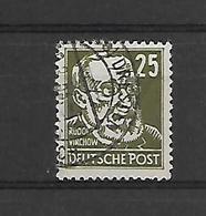 Oost-Duitsland Uitgifte 1953   N° 98  Cote Yvert 2014  150 Euro - [6] République Démocratique