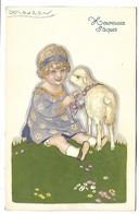 Heureuses Pâques - Illustrateur MAUZAN - Mauzan, L.A.