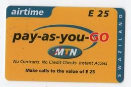 SWAZILAND PREPAYEE MTN E 25 - Swaziland