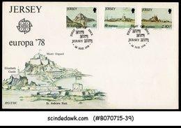 JERSEY - 1978 EUROPA '78 - 3V - FDC - Jersey