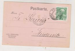 SLOVENIA,Austria POLJCANE POLTSCHACH 1910 AND, SUPPANZ Firm Postcard - Slovenia