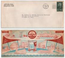HOTEL / 1956 USA - MINNEAPOLIS - MINN -  ENVELOPPE ILLUSTREE (ref GF130) - Hôtellerie - Horeca