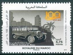 MOROCCO MAROC MAROKKO LE TRANSPORT ROUTIER AU MAROC 100 ANS D'HISTOIRE 2019 - Maroc (1956-...)