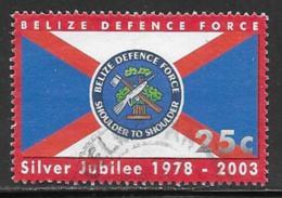 Belize Scott # 1163 Used Defence Force Anniv., 2003 - Belize (1973-...)