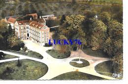 Montcauvaire Vue Aerienne  Ecoles Des Roches College De Normandie - France